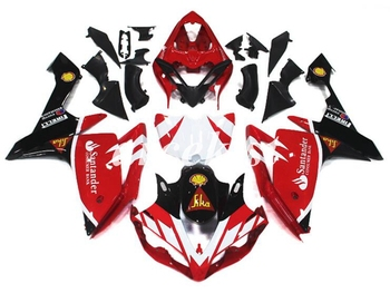 4 Free Gifts New ABS Motorcycle Injection Moold Fairings Fit For Yamaha YZF R1 2007 2008 07 08 bodywork set custom red