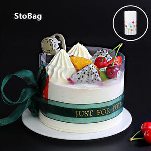 Film-Band Decoration-Tool Cake-Rim Mousse Packaging Transparent Birthday Bounded Rimmed