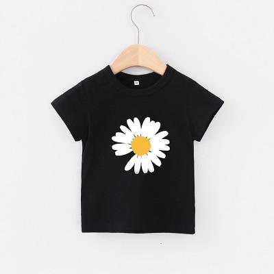 VIDMID Baby girls t-shirt Summer Clothes Casual Cartoon cotton tops tees kids Girls Clothing Short Sleeve t-shirt 4018 06 2