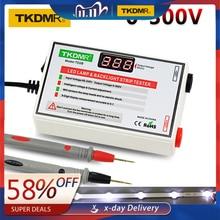 TKDMR ใหม่ LED TESTER 0 300V LED TV Backlight Tester อเนกประสงค์ LED แถบลูกปัดเครื่องมือทดสอบการวัด instruments