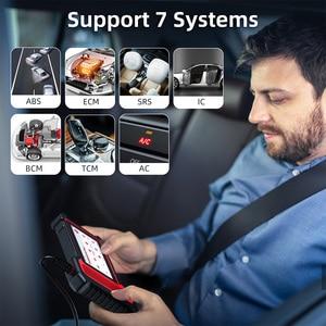 Image 3 - THINKCAR ThinkScan Plus S7 skaner samochodowy OBD2 narzędzie diagnostyczne do samochodów ABS SRS 7 systemy czytnik kodów 5 funkcja resetowania za darmo