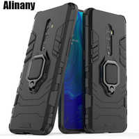 For Oppo Reno 10x zoom Case Cover Armor Hard PC & Silicone Phone Case For Oppo Reno 10x zoom 10xzoom CPH1919 Case