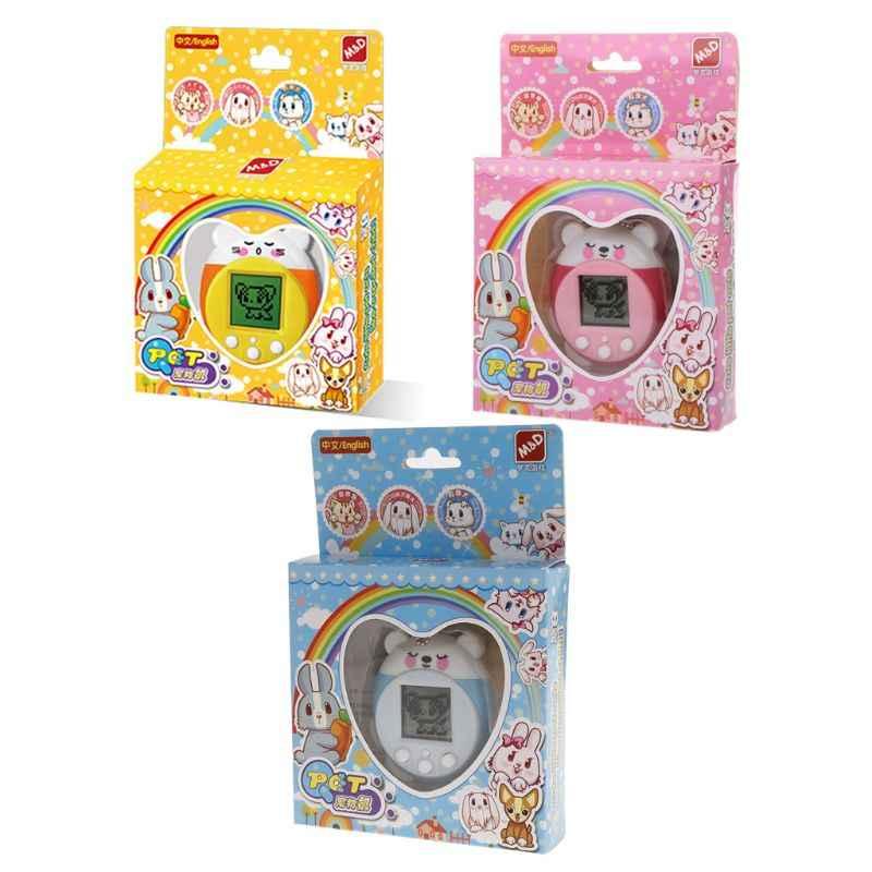 Mini elektronik evcil hayvan oyuncakları 90S 9 evcil hayvanlar bir sanal siber evcil hayvan oyuncak komik noel hediyesi çocuklar yetişkinler için