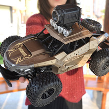 Voiture RC électrique à grande vitesse 25 KM/H, avec WiFi FPV, caméra 720P, HD 1:18, télécommande, escalade, tout terrain, camion, jouet