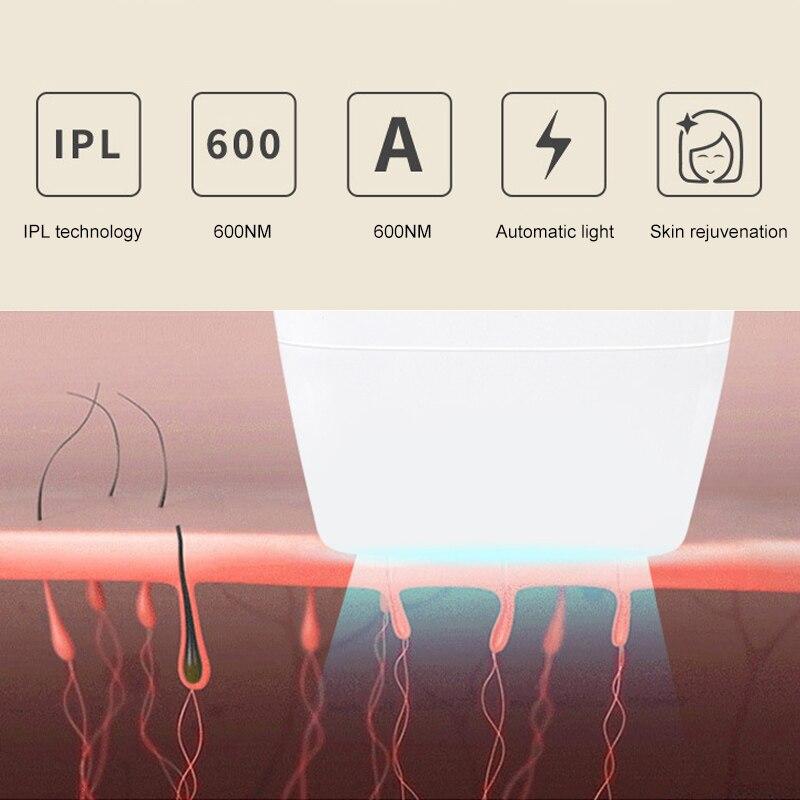 Photon indolore épilation permanente Bikini tondeuse électrique épilateur beauté dispositif V9-Drop
