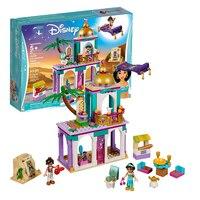 Новые блоки для девочек Аладдин и жасминовый дворец Приключения Совместимость с legoingly Disneying 41161 строительные блоки Рождественский подарок