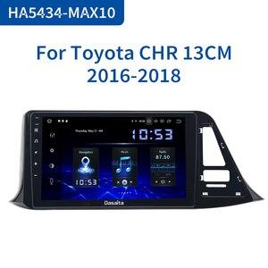 "Image 1 - Dasaita Autoradio 1din Android 10.0 araba radyo Toyota için C HR CHR 2016 2017 2018 GPS araba Stereo 9 ""IPS ekran 64GB ROM"