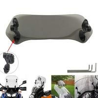 Risen Adjustable Extension Windscreen Windshield clip on screen For BMW R1100S / R1100S ABS Boxer Cup Rep R1150R / Rockster