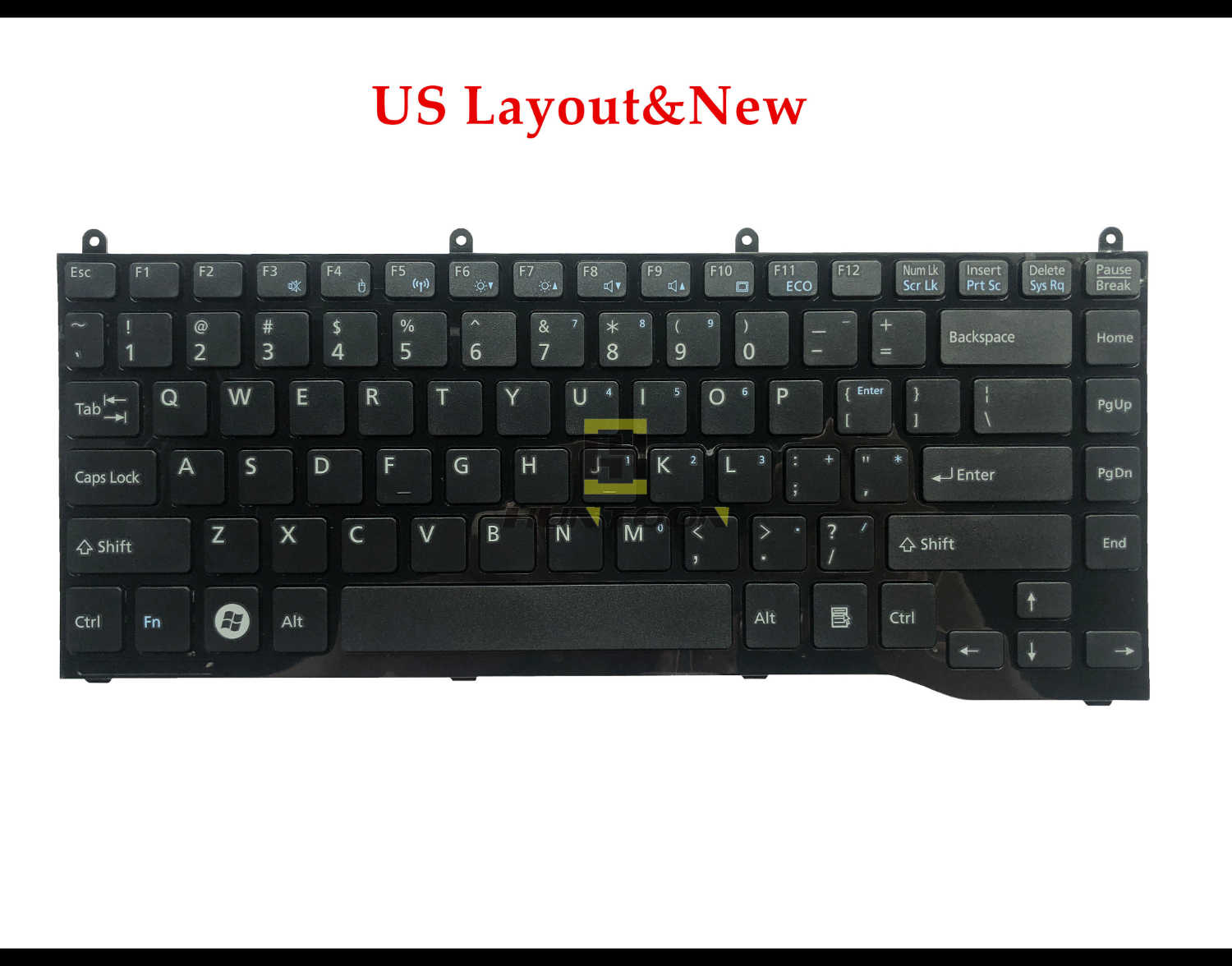 New US Laptop Keyboard For FUJITSU Lifebook LH532 LH522 PN:CP575204-01 Repair Notebook Replacement keyboards EN layout Free ship