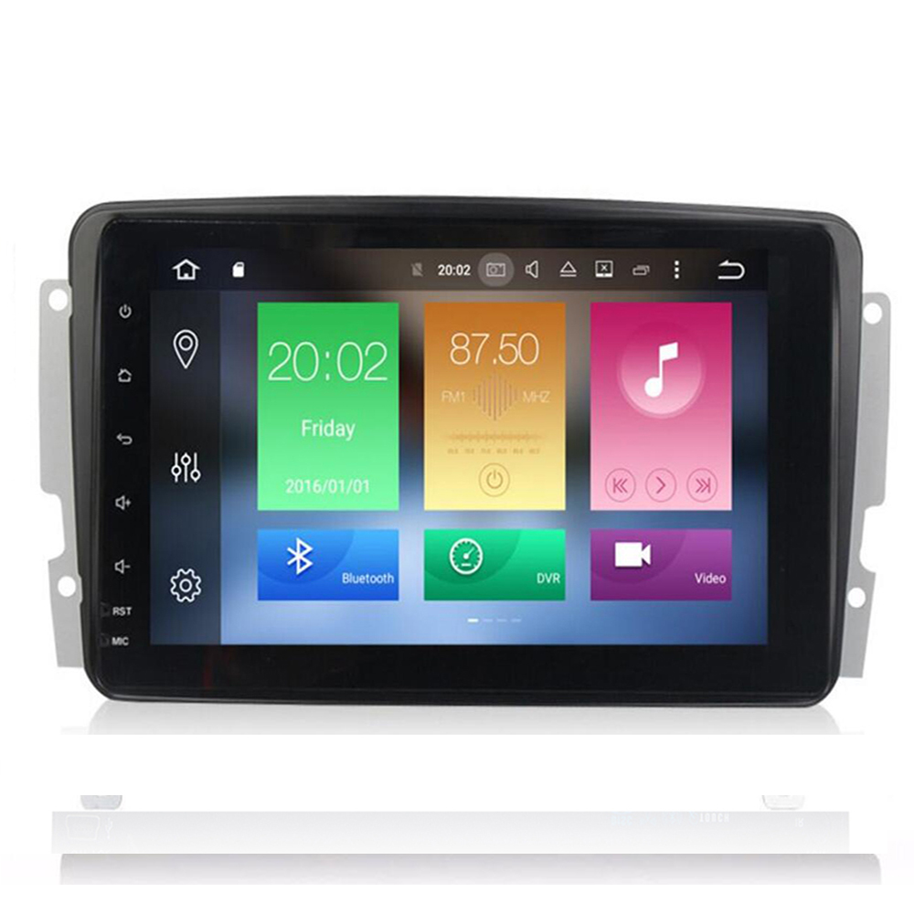 Full Touch!ANDROID 10 <font><b>CAR</b></font> DVD PLAYER For/Mercedes Benz W209 W203 W168 <font><b>ML</b></font> <font><b>W163</b></font> W463 Viano W639 Vito Wifi GPS BT <font><b>Radio</b></font> DVR Canbus image