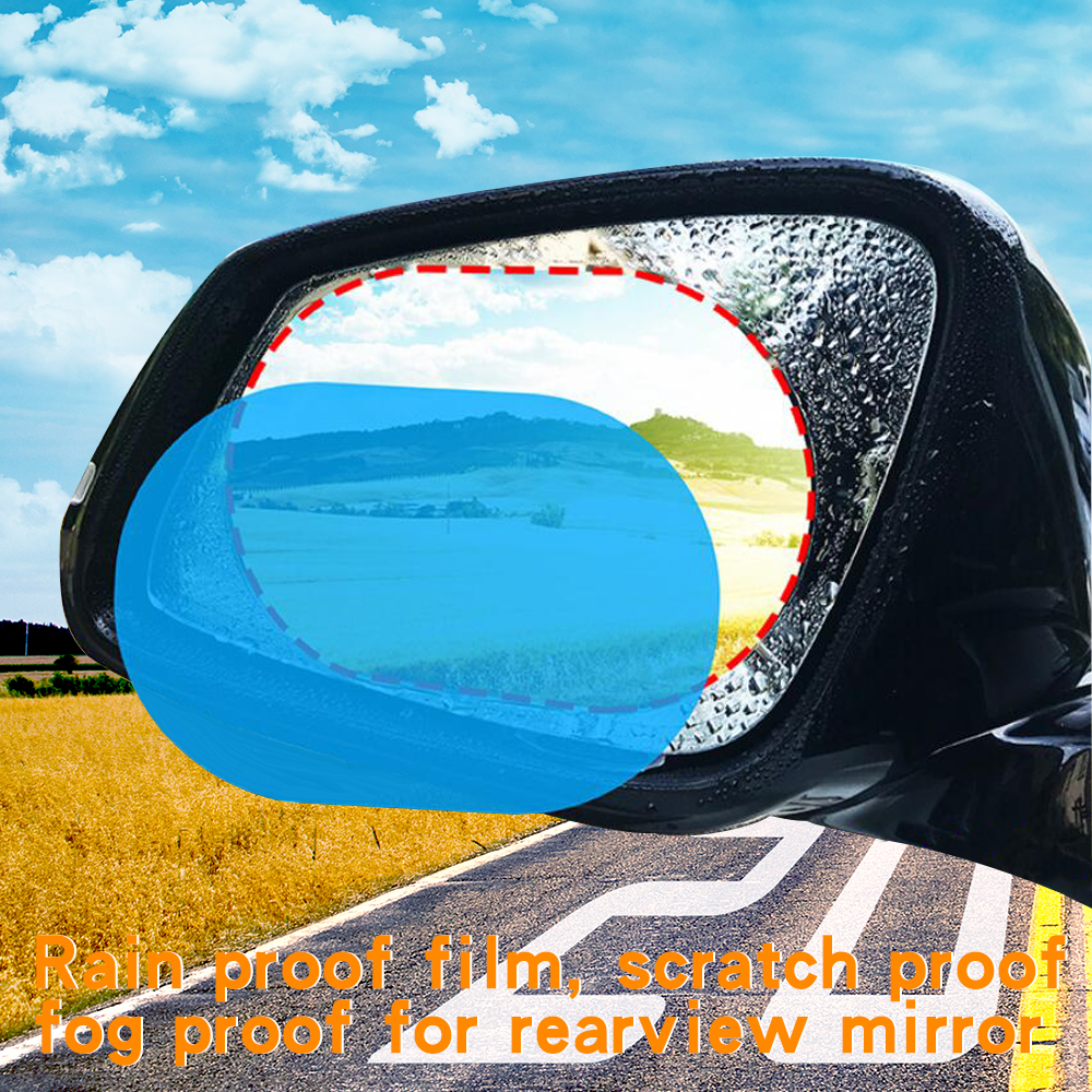 Rain Proof Film For Automobile Rearview Mirror