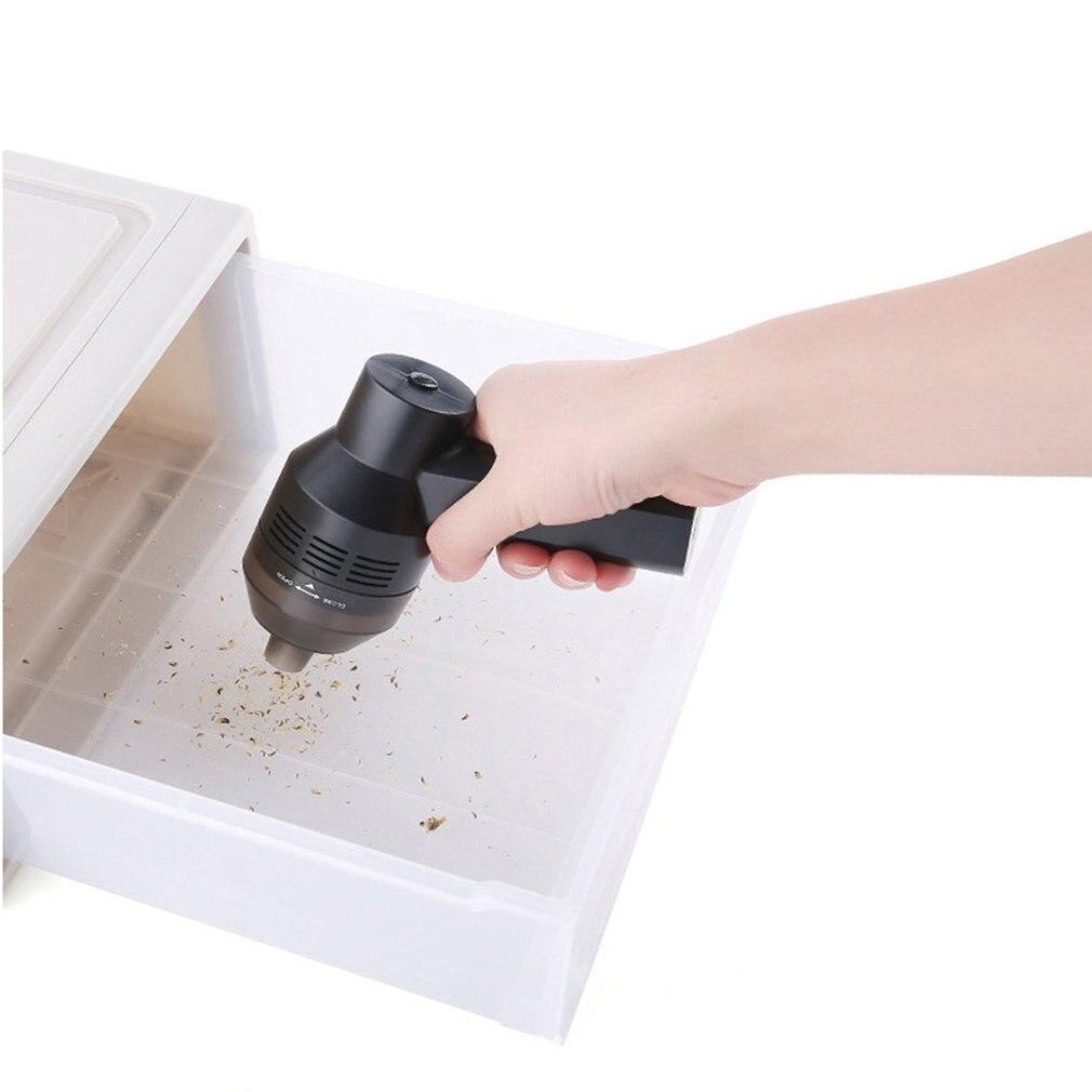 Практичный дизайн ручной пылесос Порты usb пылесборник светодиодный светильник очиститель для портативных ПК клавиатура
