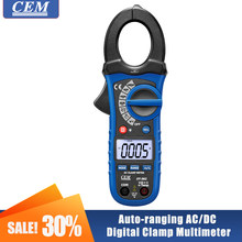 Cem DT-360/DT-362 auto-ranging ac/dc digital braçadeira medidor de retenção de dados de alta definição display lcd braçadeira multímetro