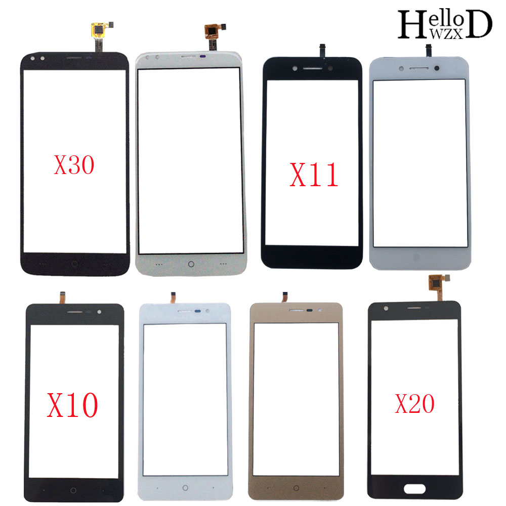 Mobile Touch Screen Panel For Doogee X10 X11 X20 X30 TouchScreen Digitizer Panel Front Glass Sensor 3M Glue Wipes