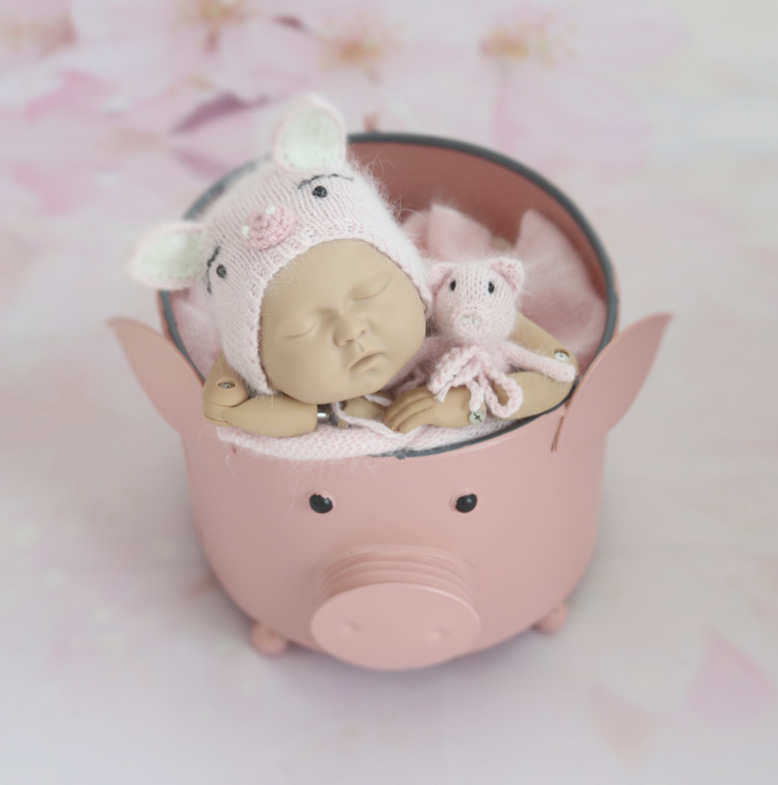 New Newborn Photography Props Children's Photography Props Shooting Studio Props Pig /model Gifts Kids Toys Juguetes Brinquedos