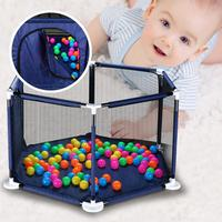 Baby Playpen Fence Folding Safety Barrier For 0 6 Years Old Children Playpen Oxford Cloth Game Tent Barrier For Infants