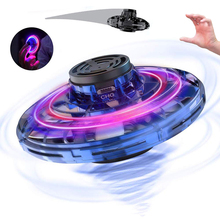Mini Drone UFO Flynova Flying Fidget Spinner Hand Operated Induction Aircraft To