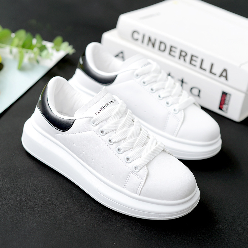 2019 New White Sneakers Men Canvas Shoes Women Fashion Vulcanize Shoes Lovers Spring/Autumn Summer Casual Shoes 35-44
