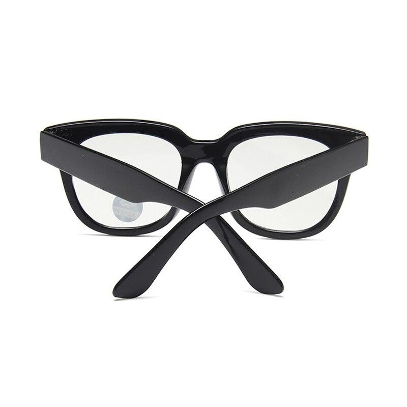 Longkeader анти синие большие очки дети компьютер синий светильник блокировка очки черного излучения заклепки квадратные очки