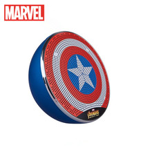 Marvel Outdoor Home heavy bass small steel gun mobile Universal Mini Computer Panther Small Stereo