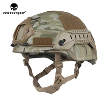 Tactical Helmet Mich 2002 Emersongear Headwear Protective Hunting Military Sirsoft Training