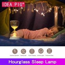 Hourglass Sand Timer Sleep Light Home Decor Modern Creative Clock Timers for Kids Gift DIY Sandglass Home Decoration Accessories