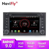 Android 9.0 Car GPS Track Multimedia player 7''touch screen for Seat Leon 2013 2014 2015 2016 2017 2018 Car radio RDS bluetooth