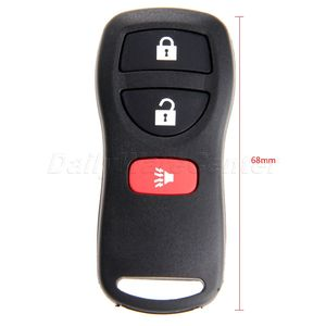 Image 2 - 3 Buttons  28268 5W501 Replacement  Keyless Entry Car Remote Key Fob Control Case Shell For Nissan KBRASTU15 315Mhz Car Covers
