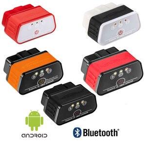 Image 1 - KONNWEI KW903 ELM327 OBD2 Bluetooth Auto Diagnose werkzeug KW 903 ulme 327 wifi für Android/IOS 2017 Neue code reader scanner dfdf