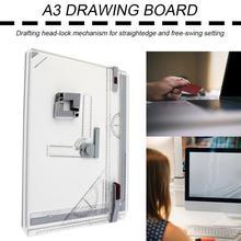 Новая портативная А3 доска для рисования, доска для рисования с параллельным движением, регулируемый угол, Рисовальщик, инструменты для рисования