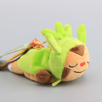 17CM Plush Chespin Pendant High Quality sutffed soft lovely Festive Vigorously christmas Halloween gift kid Children's dolls image