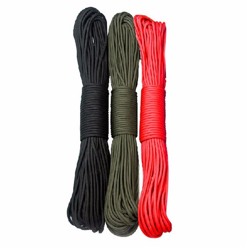 1Pc 31m Outdoor Camping Parachute Rope Survival Single Core Strand Rope VB704 P0.21