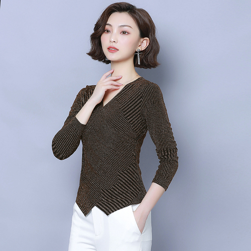 IPencle Hot Autumn New Style Shirt  Large Size Bottoming Shirt Female Long Sleeve