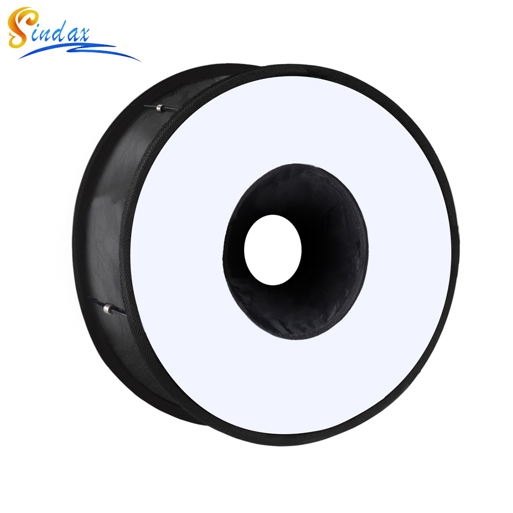 45cm Ring Softbox Speedlight Round Style Flash Light Shoot Soft Box Foldable Soft Flash Light Diffuser For DSLR Canon Nikon