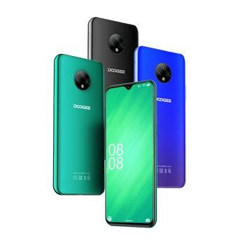 Купить Мобильные телефоны DOOGEE X95, Android 10, 4G-LTE, экран 6,52 дюйма, MTK6737, 16 Гб ПЗУ, две SIM-карты, тройная камера 13 МП, аккумулятор 4350 мАч