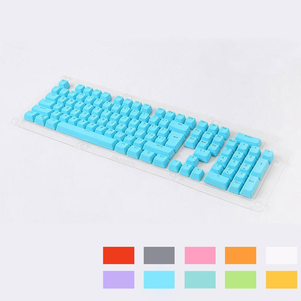 New Arrival 104 Doubleshot PBT Spacebar Keycaps Blank Keycaps For Wired USB Cherry Switches Mechanical Keyboard Keycaps