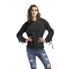 Women Casual Long Sleeve Hoodie Sweatshirt Jumper Pullover Thick Autumn Winter Tops