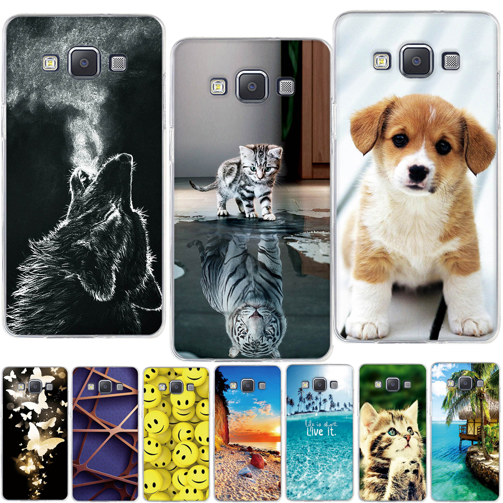 For Samsung Galaxy A5 2015 Case Cover Silicone Soft TPU Cover for Samsung Galaxy A5 A500F Cover Coque for Samsung A5 Phone Case image