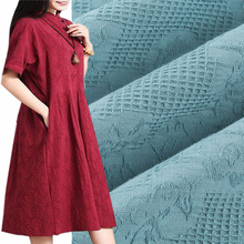 Soft Breathable Cotton Jacquard Fabric for Summer Dress,Diy Apparel Sewing Robe Dress Tissu,Patchwork Cloth Material,Width 148cm