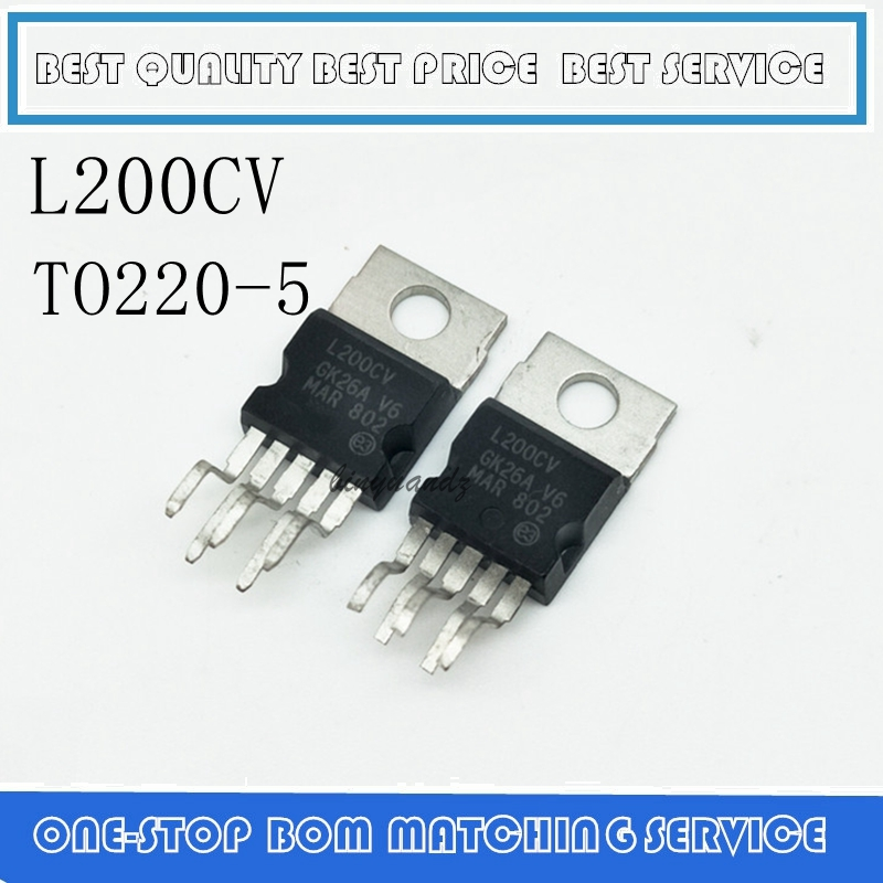 10PCS-50PCS  L200C TO-220 L200CV L200CV L200 TO220-5  Best Quality