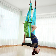 Yoga Swing Hammock Aerial Yoga Swing Set Anti-Gravity Ceiling Hanging Yoga Hammock Yoga Swing Inversion цена 2017