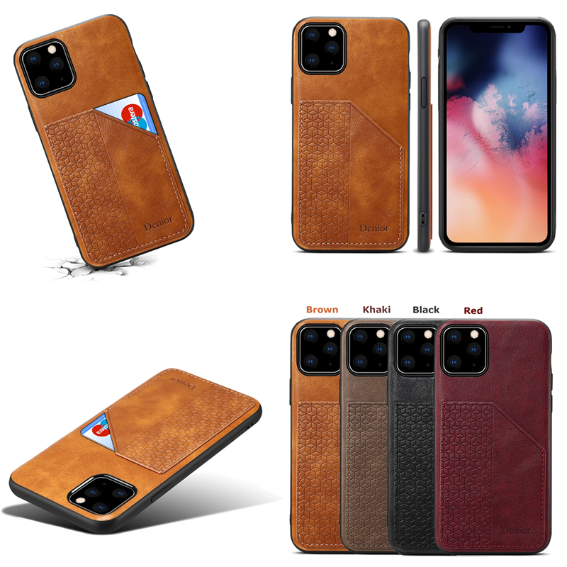 Luxury Leather Card Holder Case for iPhone 11/11 Pro/11 Pro Max 3