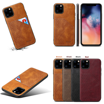 Luxury Leather Card Holder Case for iPhone 11/11 Pro/11 Pro Max