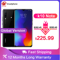 Global Version Lenovo K10 Note Snapdragon 710 Android 9.0 Mobile Phone 6.3' 4050mAh Battery 6GB RAM 128G ROM 4G LTE Smartphone