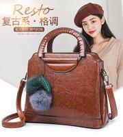 Di na li sha WOMEN'S Bag Shoulder Large Bag Europe And America Hot Selling Hand Saffiano Bag Fashion Lady Bag