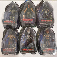 Predator Figure Celtic Maskedแผลเป็นBoarงูGuardian Predator Stalker Shaman Lostป่าDemon City Hunter Neca Alien Figure(China)