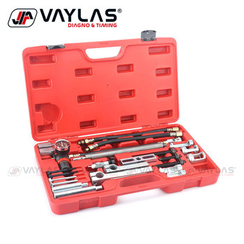 valve spring compressor stem seal removal tool auto garage repair tools for toyota motorcycle bmw vw ford audi mercedes at2261 Engine Cylinder Head Remover Installer Tool Set Valve Spring Compressor Engine Replacement Tool for Benz BMW Volvo Toyota Honda
