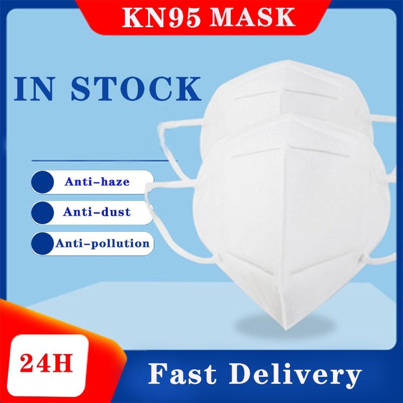 10PCS N95 Mask Respirator Anti Pollution PM2.5 Face Mask Dust Mascarillas Proteccion Mask Ffp3 Respirator FFp2 Mask