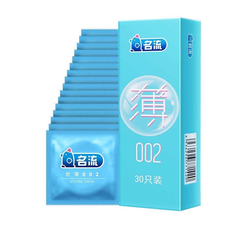 Mingliu 30 pièces/boîte préservatif en latex naturel Dick set jouets pour adultes anal sexshop sexe pour hommes pénis pointe coq lubrifiant