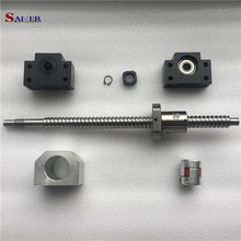 16mm Ballscrew and ballnut CNC Linear Bearing Shaft Ball screw 1605 machined cost for ballscrew linear shaft and other parts extra cost